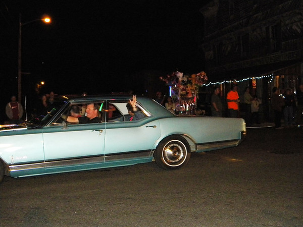The Annual Christmas Parade in White Springs Friday night, Nov. 30.