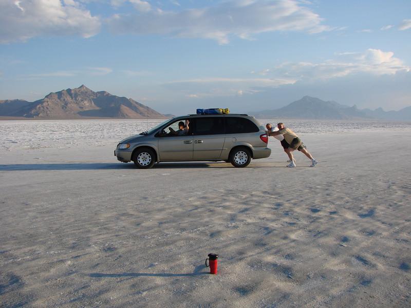 Bonneville Salt Flats..