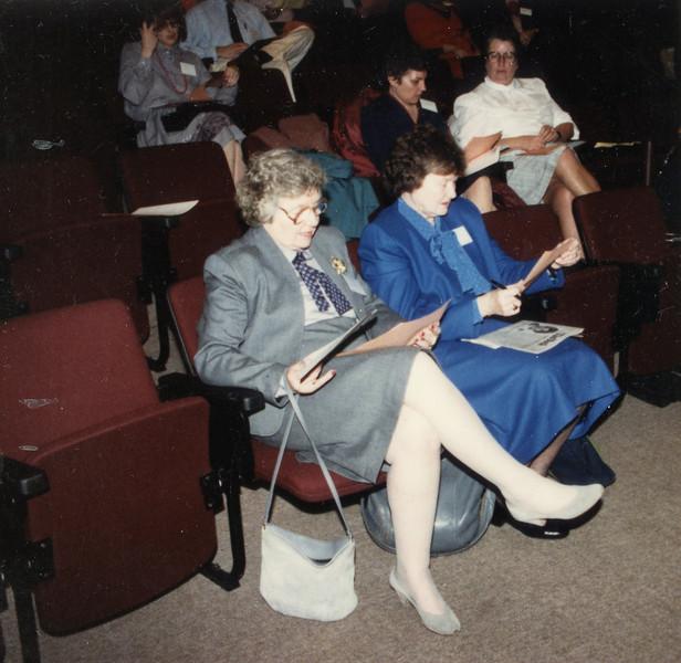 Dorothy Cowe and Dot Bergin