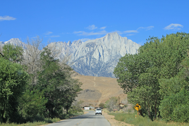 8/18/11 Whitney Portal Road from Lone Pine, Eastern Sierras, Inyo County, CA