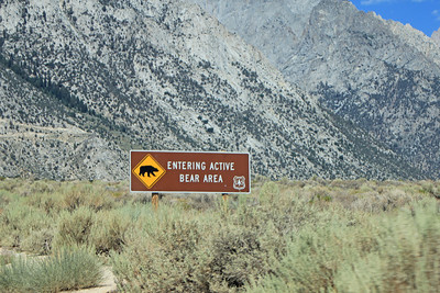 8/18/11 Ascending Whitney Portal Road from Lone Pine, Eastern Sierras, Inyo County, CA
