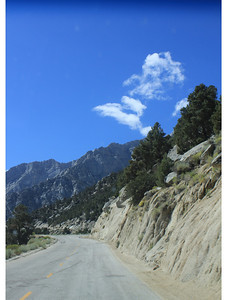 8/18/11 Ascending Whitney Portal Road from Lone Pine, Eastern Sierras, Inyo National Forest, Inyo County, CA