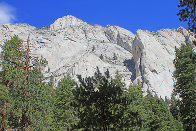 8/18/11 View from Whitney Portal Picnic area. Eastern Sierras, Inyo National Forest, Inyo County, CA
