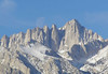 Mt Whitney Moon Set, Jan 5, 2010