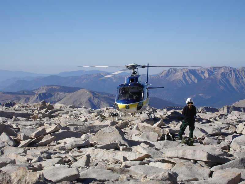 whitney summit toilet helicopter