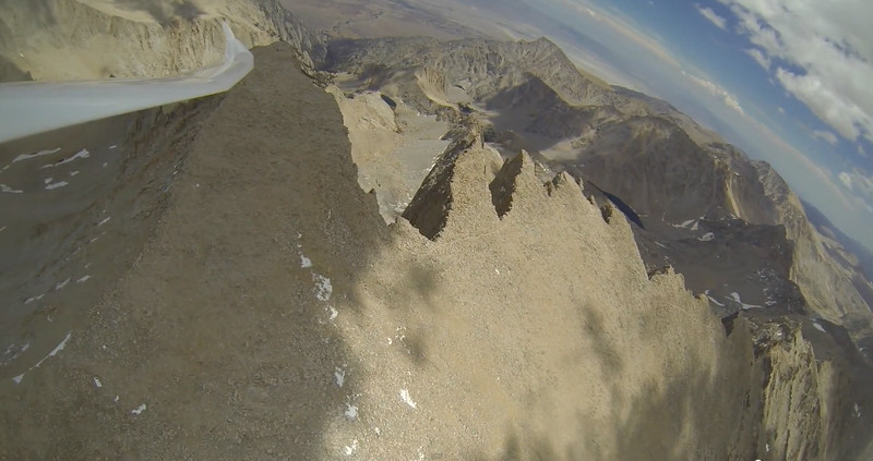 """Whitney summit from a glider video.<br /> From YouTube video: <a href=""""https://www.youtube.com/watch?v=SJldQEmBnvk"""">https://www.youtube.com/watch?v=SJldQEmBnvk</a> at 5:23"""