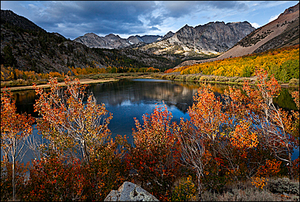"""North Lake Skyline –  #10-2, by Vern Clevenger, Mammoth, CA.  760-934-5100  <a href=""""http://www.vernclevenger.com"""">http://www.vernclevenger.com</a>."""