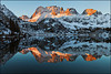 "Dawn, Lake Ediza - #10-3 by Vern Clevenger, Mammoth, CA.  760-934-5100  <a href=""http://www.vernclevenger.com"">http://www.vernclevenger.com</a>."