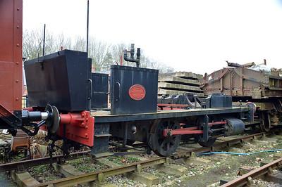 945 'Annie' in pieces/under restoration   13/02/16