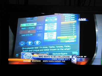 Who Wants to be a Millionaire Cheat Screen