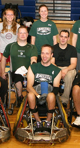 Eric Anderson, front row #4, with teammates.