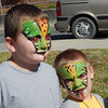 The kids really enjoyed the face painting.