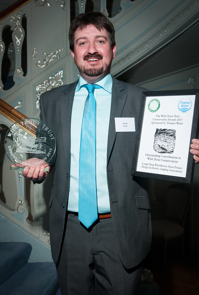The Wild Trout Trust Conservation Awards 2015 - Picture Andy Brooks - 07963 177276
