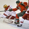 Minnesota Wild center Zenon Konopka goes after the puck in the second period.<br /> (Pioneer Press: Ben Garvin)