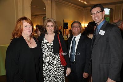 Ann Vance, Gina Lemay, Naras Eechambadi, Jon Epstien photo by Rob Rich © 2009 robwayne1@aol.com 516-676-3939