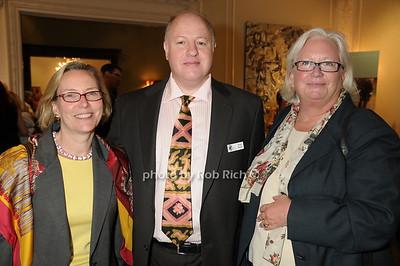 Sandy Peterson, Peter Daszak, Lynn de Sherbinin photo by Rob Rich © 2009 robwayne1@aol.com 516-676-3939