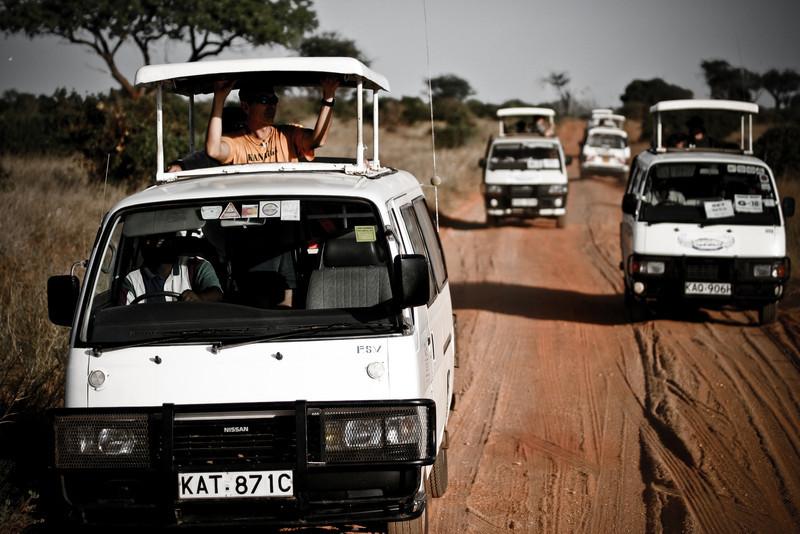Safari<br /> Tsavo West National Park, Kenya
