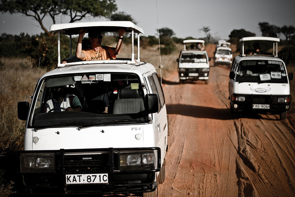 Safari Tsavo West National Park, Kenya