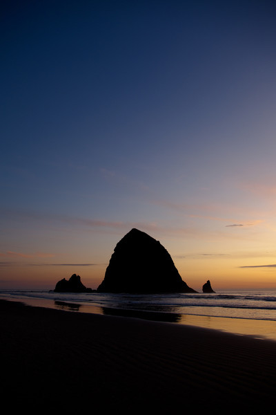Haystack Rock<br /> Cannon Beach, Oregon, USA