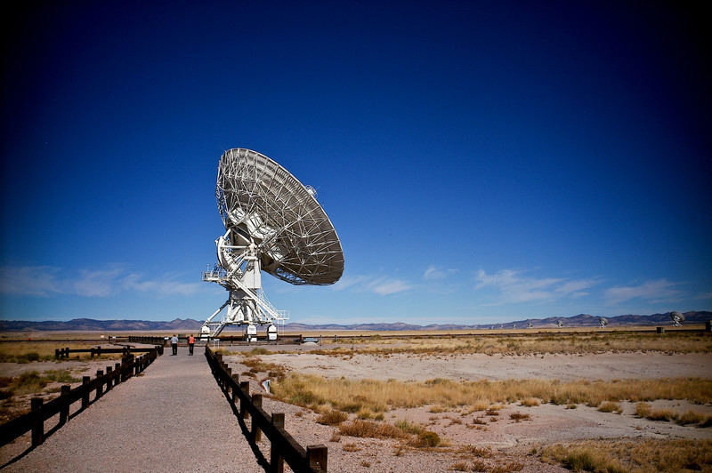 The Karl G. Jansky Very Large Array (VLA)<br /> Plains of San Agustin, New Mexico
