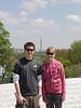 Cameron and Kelsey from the Kennedy Gravesite; Arlington National Cemetery; Arlington, VA.