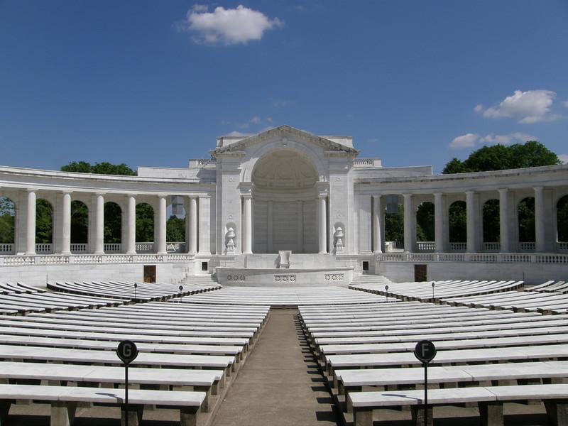 Memorial Amphitheater; Arlington National Cemetery, Arlington, VA.