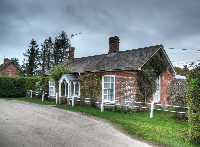 A charming old bungalow at Park Lane, Wimborne St Giles.