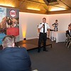 Best Bar None - Inspector John Turton gives a speech at the awards ceremony in Winchester Guildhall. Wednesday 6th, September.