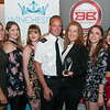 Best Bar None - Staff of The Slug and Lettuce receive their award from Inspector Jon Turton of Hampshire Police. Wednesday 6th, September.
