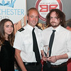 Best Bar None - Staff of The Railway Inn receive their award from Inspector Jon Turton of Hampshire Police. Wednesday 6th, September.