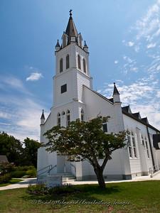Entry way - St. John the Baptist-Ammannsville, Texas