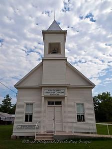 """White Entry Portrait"" - Winchester United Methodist Church-Winchester, Texas"