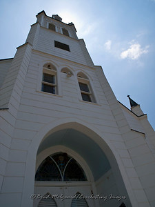 """Towering Entrance"" - St. John the Baptist-Ammannsville, Texas"