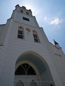 """Towering Entrance"" - St. John the Baptist-Ammannsville, Texas"