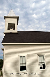 """Steeple and Two Windows"" - Winchester United Methodist Church-Winchester, Texas"