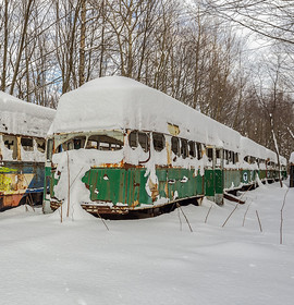 Abandoned America: Where Trolleys Go To Die?