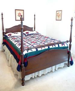 Mahogany full bed