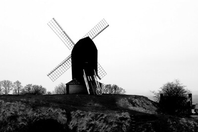 Brill Windmill, March 9. I wrote a short story about this windmill: http://www.donkinlife.blogspot.co.uk/2013/03/the-black-windmill.html