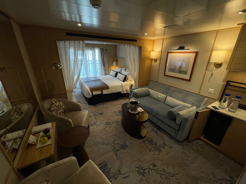 Windstar Star Breeze - Star Balcony Suite