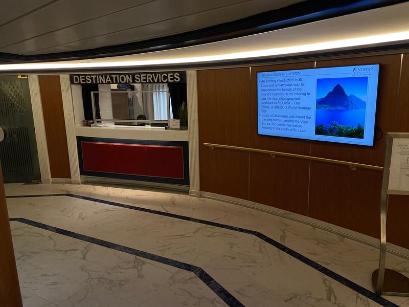 Windstar Star Breeze - Destination Services - Deck 5