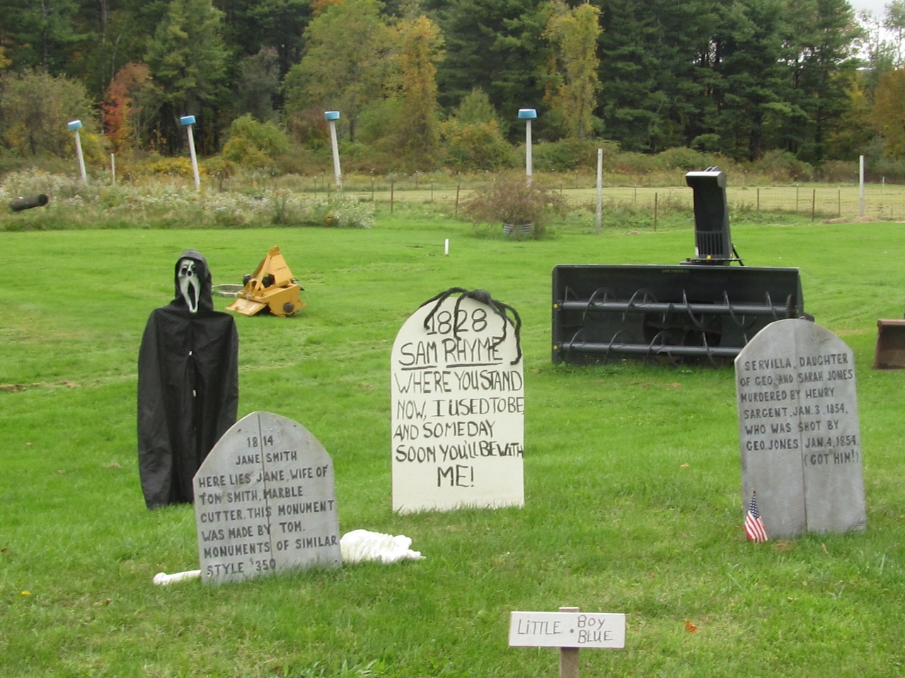 Check those tombstones