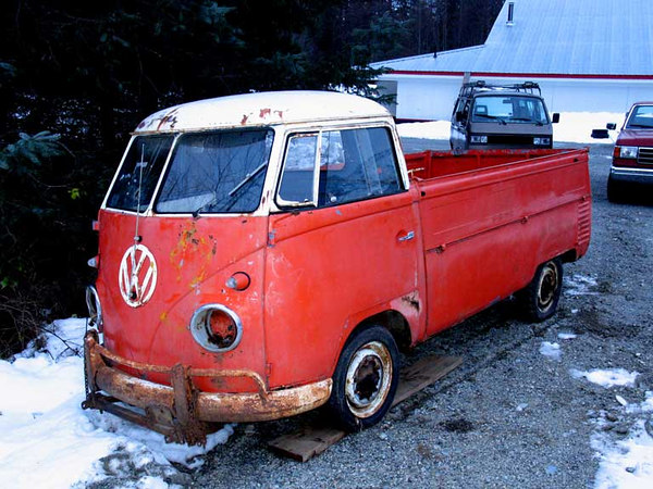 single cab front Ruf 1958