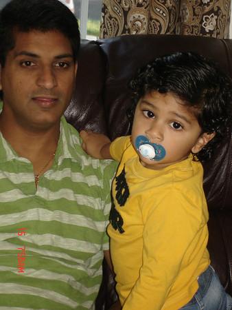 Nandini 5th Birthday, Christmas, winter 2011