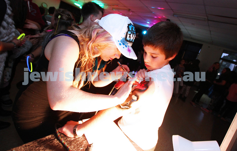 2-6-13. Winter Blow Out at the Caulfield Bowls Club. More thasn 200 kids party on the help raise money for Maccabi Victoria. Photo: Peter Haskin