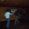 Mark and Schaunon scootin' the boot while waiting their turn for karaoke