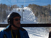 riding the gondola from Lionshead at Vail