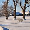 Walla Walla Country Club after second snowfall, Dec 20