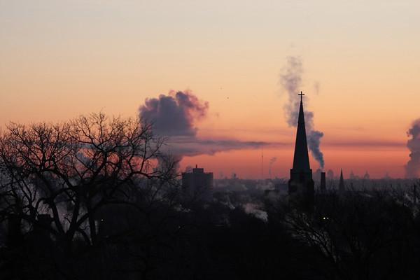 Winter Sunrises