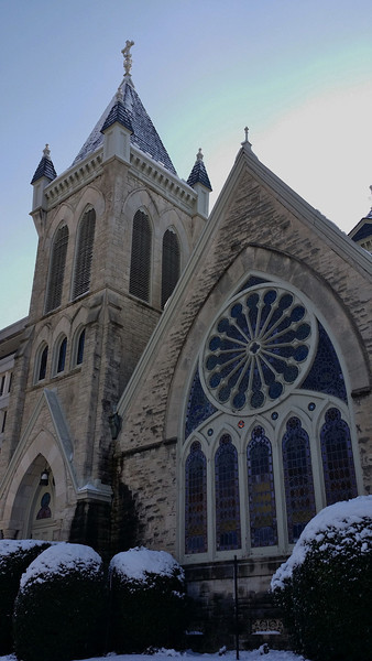 Love taking pictures of my church! The architectural marvel!