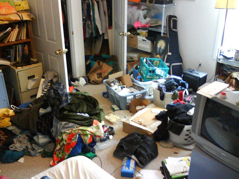 My room... a sin of entropy